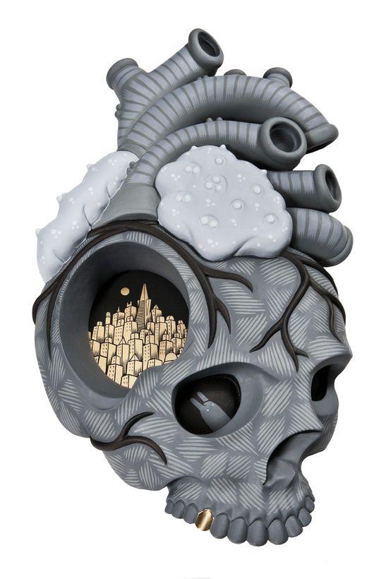 More of the skull-mastery from Jeremy Fish: http://skullappreciationsociety.com/jeremy-fish-paintings/ via @Skull_Society