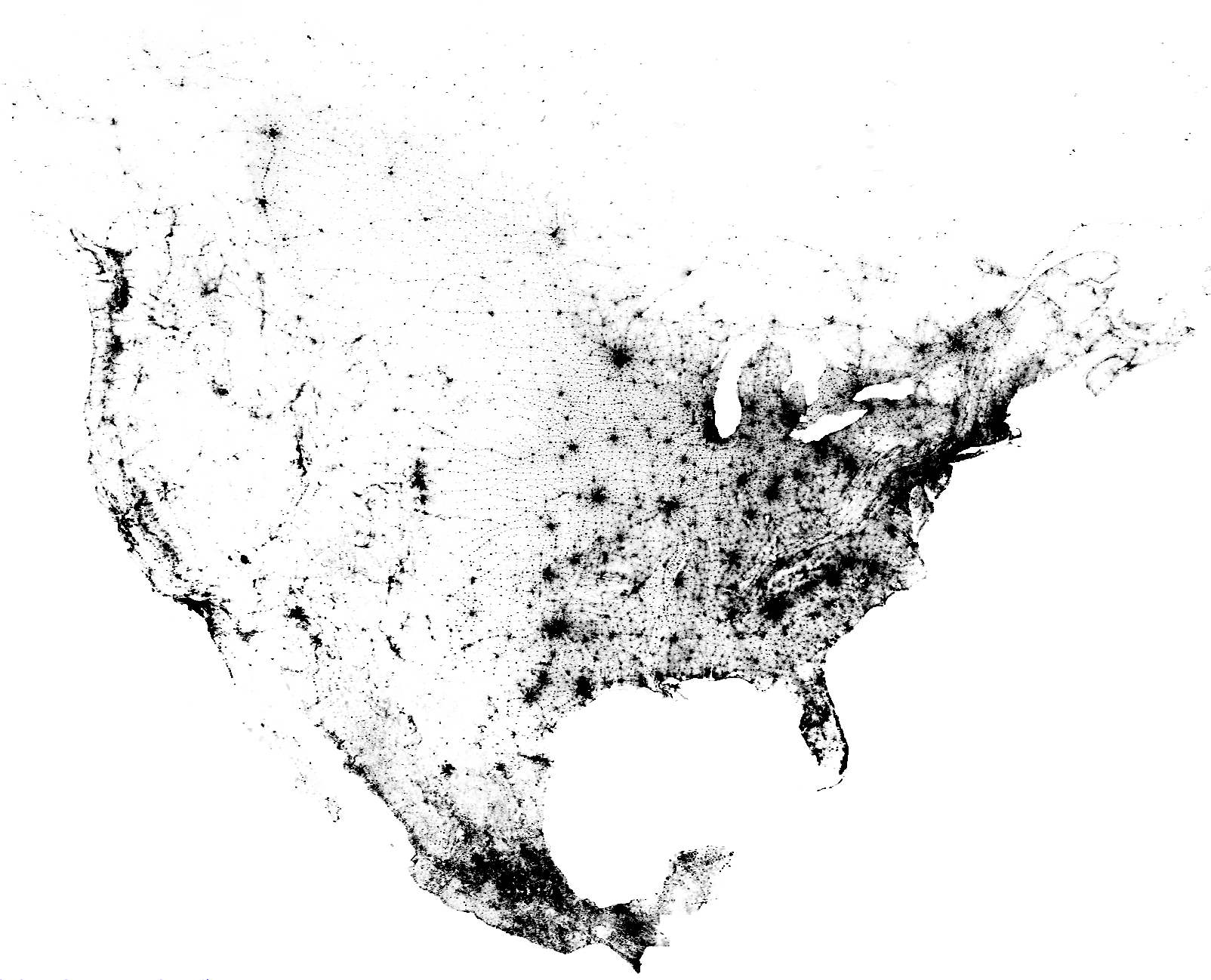 Us Census Dot Map Pin on Mapping