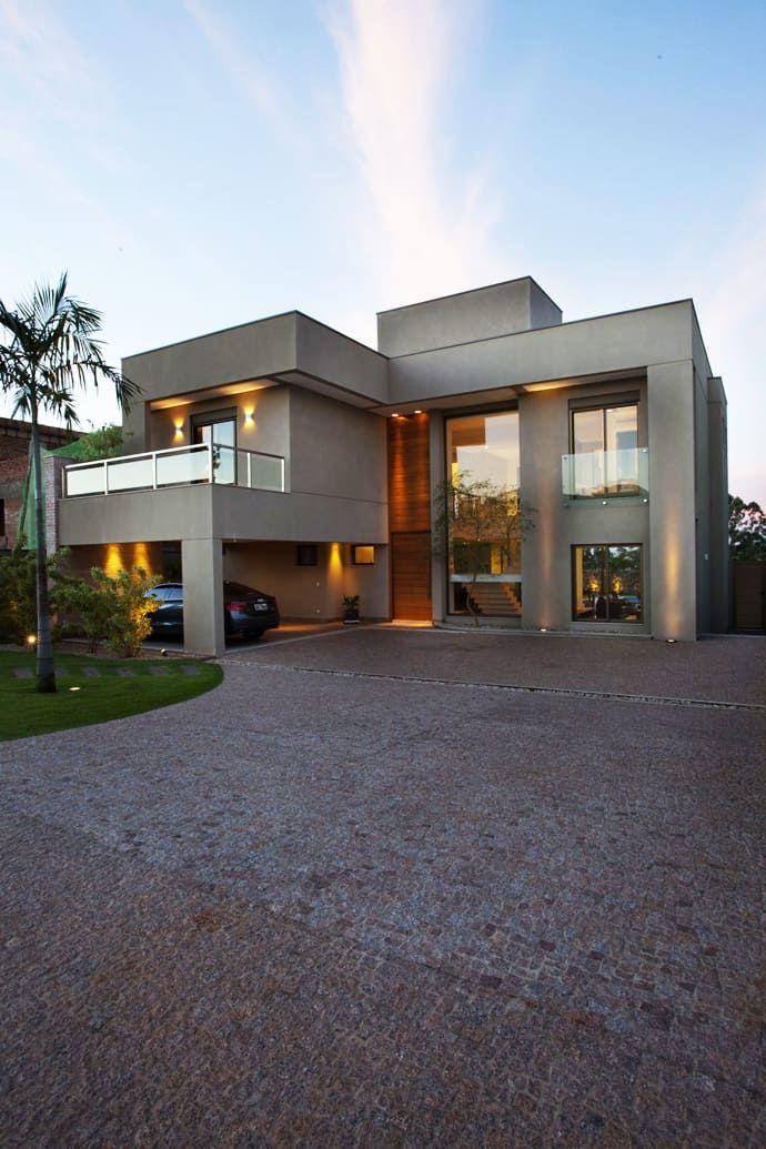 Residencia df by pupo gaspar arquitetura dream house for Decoracion de casas brasilenas
