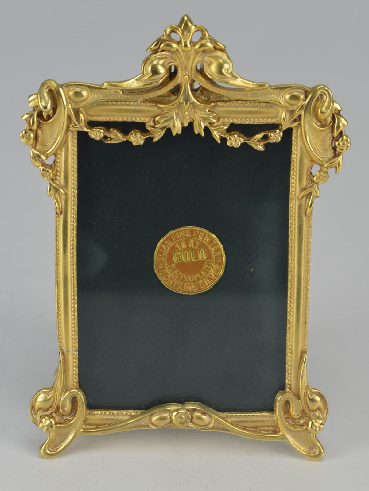 Brand New Elias Artmetal Gold Plated Victorian Picture Frame Style ...