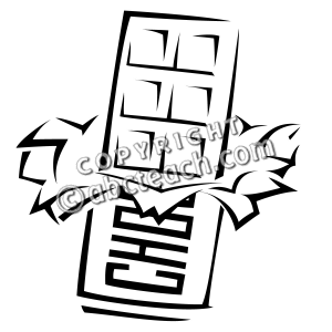 Clip Art Chocolate Bar Free Coloring Pages Coloring Pages Clip Art