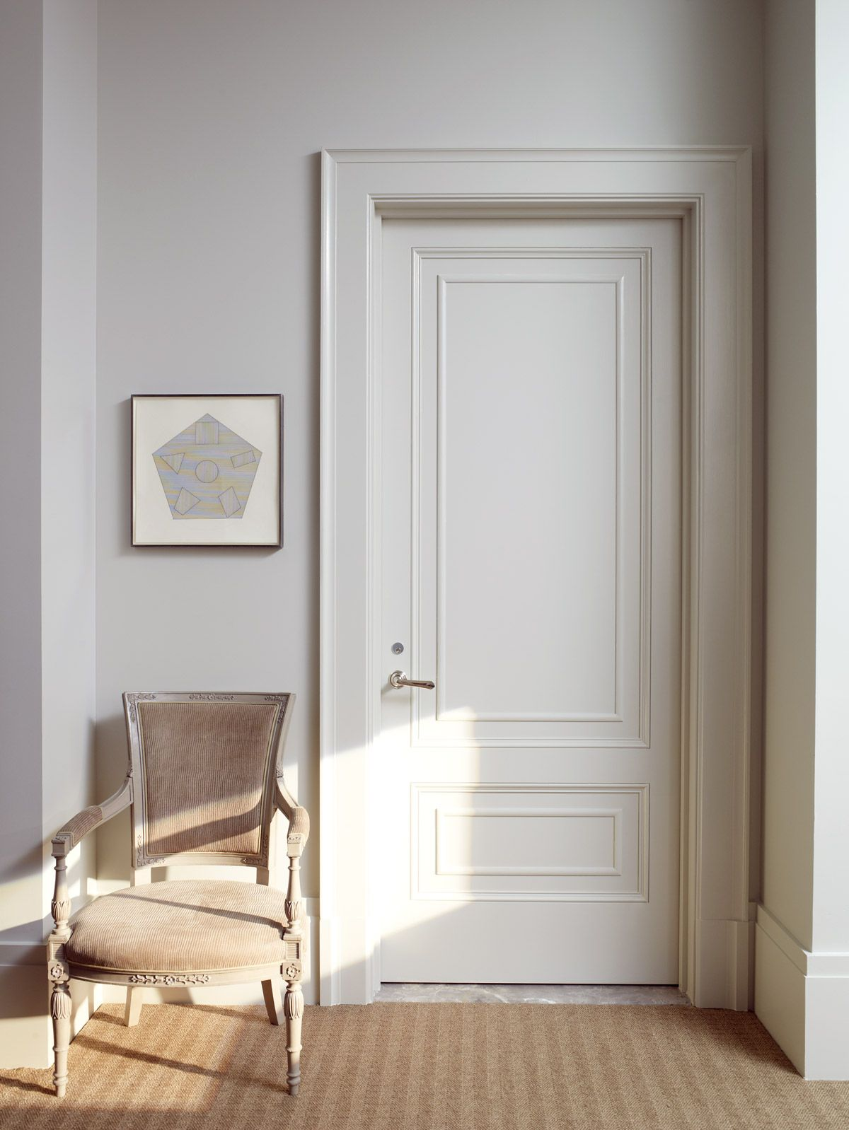 Simple 2 panel interior door with a modern styled home i think 10 questions with thomas obrien eventelaan Choice Image
