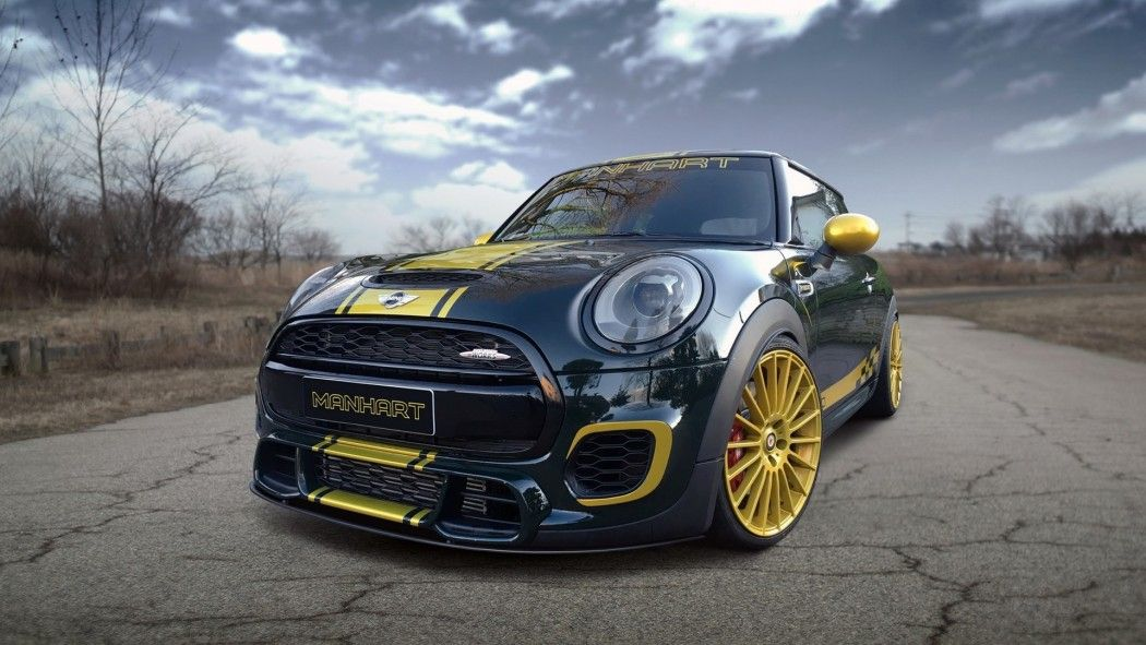 A Customized Mini Cooper To Celebrate The Anniversary Of Manhart Tuning Company