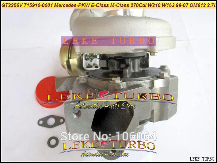 GT2256V 715910-5002S 715910 Turbo Turbocharger For Mercedes