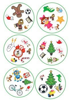 Dobble Christmas And Toys Abc Cono Lapbook Descubrimos