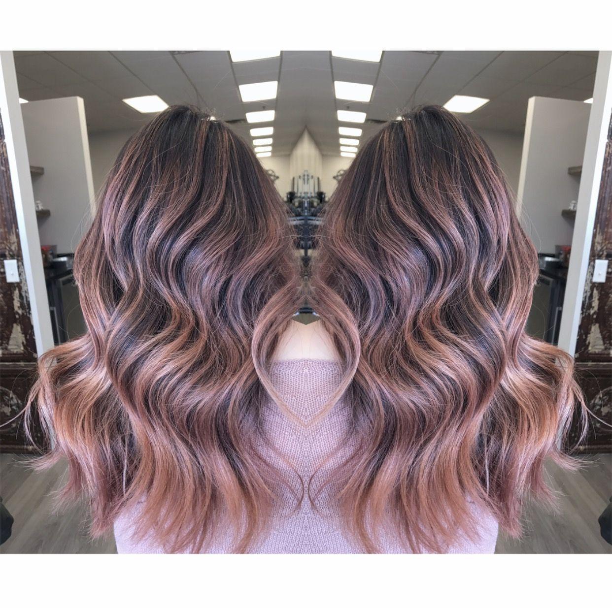 Omikonghmu Salonorianamn Xoxomikong Hair Haircolor Hairmagic Haircolormagic Flamboyage Balayage Babylights Highlights Colormelt Rose Gold