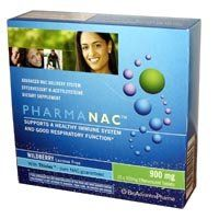 """PharmaNac 900mg NEW SIZE (32 Effervescent Tabs) N.A.C. Brand: BioAdvantex by BioAdvantex. $35.49. Immune System and Respiratory HealthWHAT IS PharmaNAC? PharmaNAC is an advanced immune system booster and the only preparation of its kind available in North America. N-acetylcysteine or """"NAC"""" for short, is a derivative of the amino acid L-cysteine, which is an essential precursor used by the body to produce glutathione. Glutathione is an extremely important and powerful antioxidan..."""