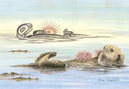 F E B B E F Edf A on Tlingit Haida Animal Symbols