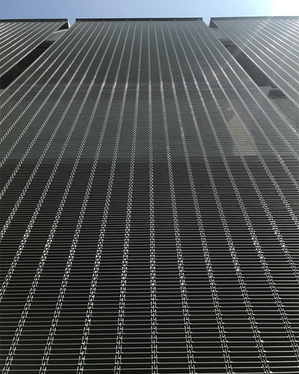 Facade cladding with HAVER Architectural Mesh. | Architectural Wire ...