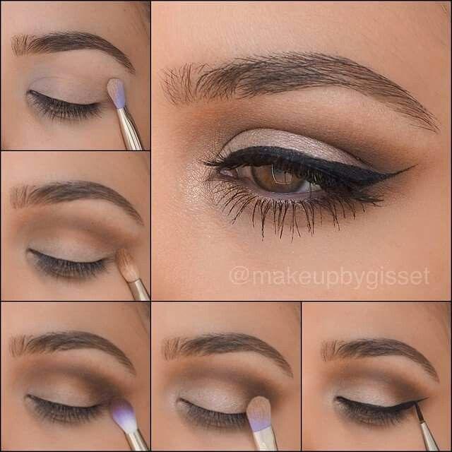 Natural eye makeup tutorials