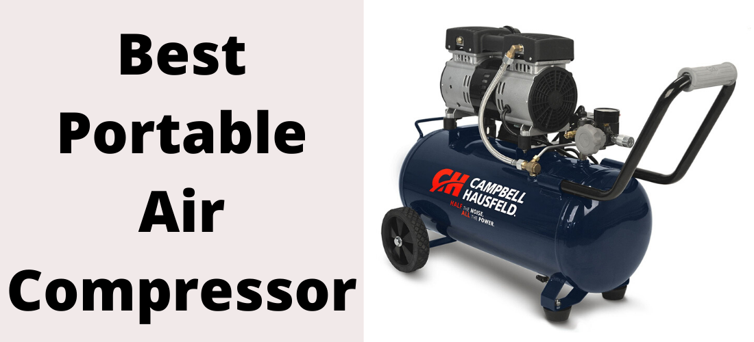 Portable air compressors are an absolute lifesaver as