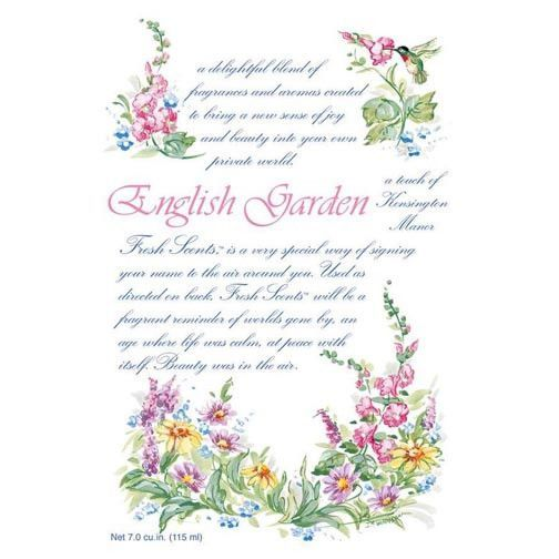Fresh Scents Scented Sachet Set Of 6 English Garden Scented Sachets English Garden Fresh Scents Sachets