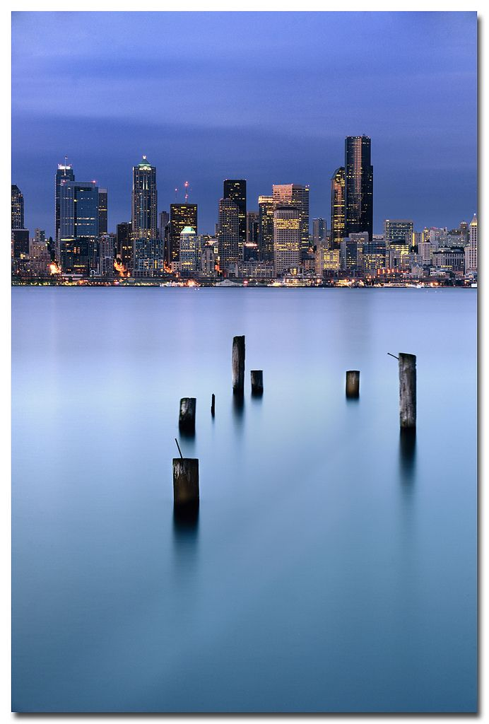 Seattle from Alki (by .Bala)