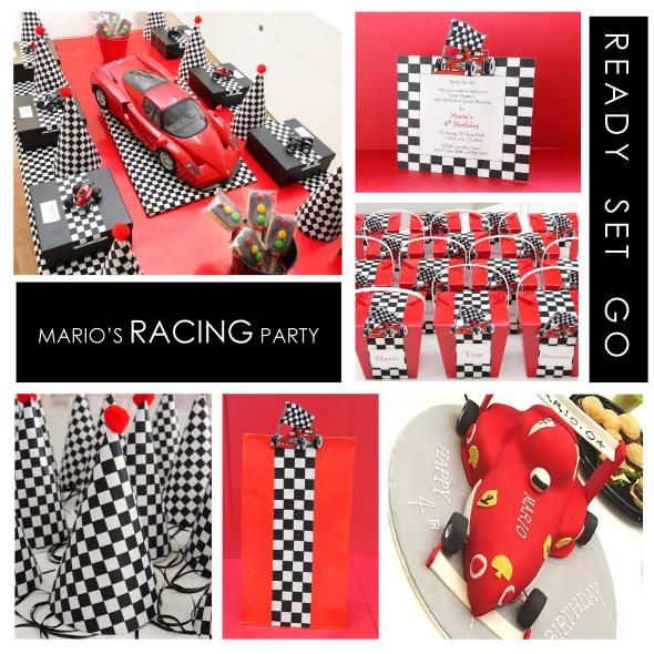 Mario's Racing Car Themed Party