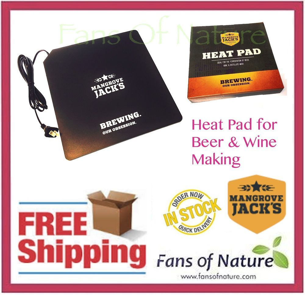 Details about Heat Pad by Mangrove Jacks Home Brew