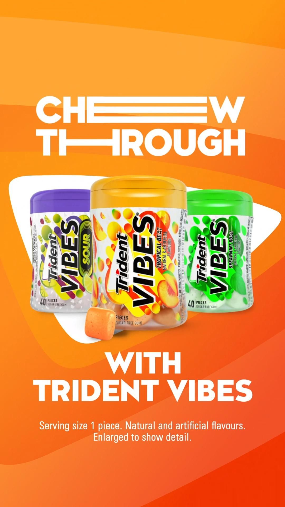 Trident Vibes Tropical Beat Wave