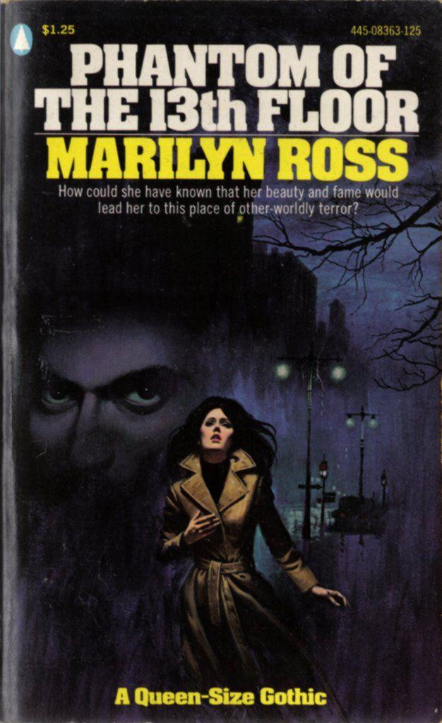 Phantom Of The 13th Floor Gothic Romance Books Gothic Books Gothic Novel