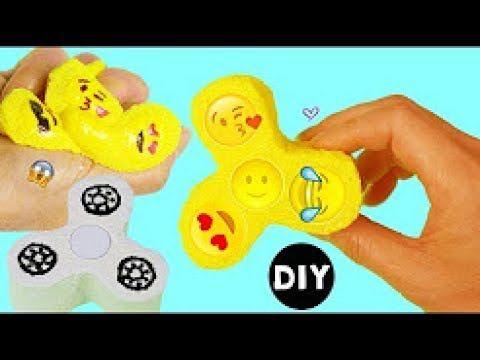 Emoji Fidget Spinner - How to Make /Fidget Spinner Squishy BENX Tutorial