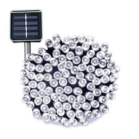 Solar String Lights 72ft 200 LED Ucharge Solar Christmas Lights