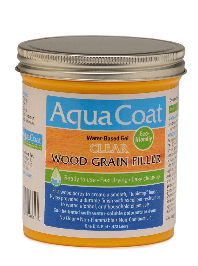 Clear Wood Grain Filler Woodworking Tools Pinterest