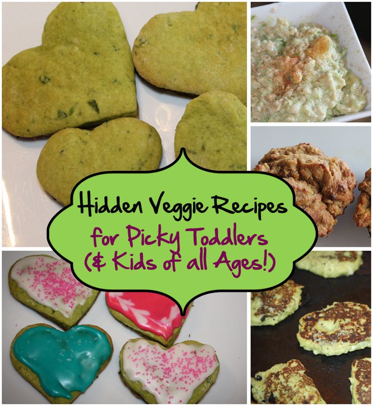 hidden veggie recipes for picky toddlers kids of all ages
