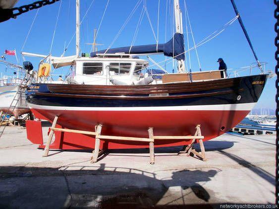 Fisher 34 MkIII   Yachts in 2019   Boat, Trawler yacht, Sailboat