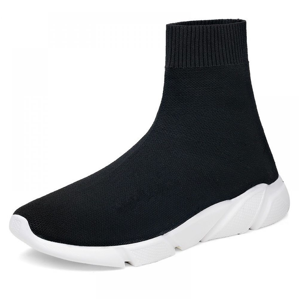 Brand High Top Men Sock Shoes Slip On Comfortable Casual Shoes Men Fashion Stretch Mans Footwear Nonslip Sneakers Men is part of Running shoes for men, Top running shoes, Mens casual shoes, Non slip sneakers, Mens fashion shoes, Breathable sneakers - Buy it before it ends  Limited time offer  There is always many products on sae upto 75%  Brand High Top Men Sock Shoes Slip On Comfortable Casual Shoes Men Fashion Stretch Mans Footwear Nonslip Sneakers Men  Pro Buyerz