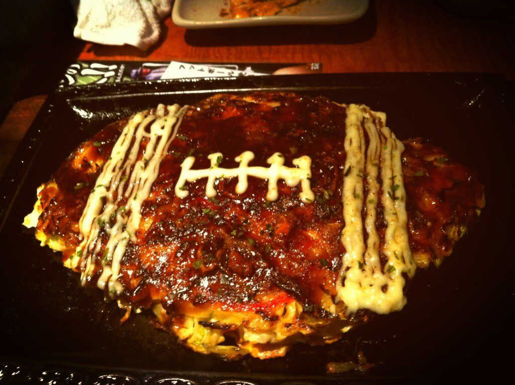 football okonomiyaki!!!