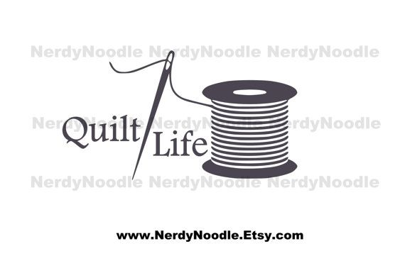 Quilt life decal vinyl car window sticker you by nerdynoodle