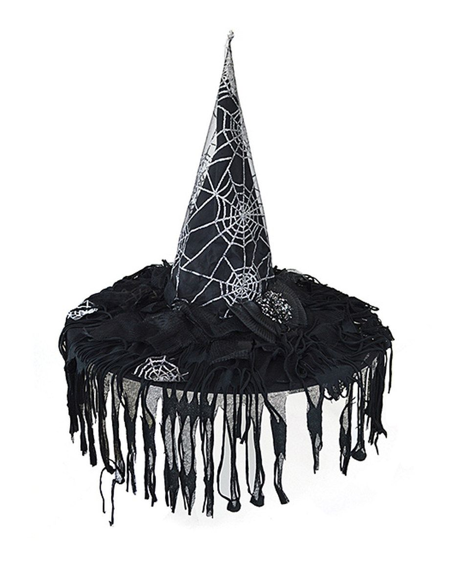 a8bb271eb5b Another great find on  zulily! Spider Web Witch Hat Décor by Shea s  Wildflowers Company  zulilyfinds