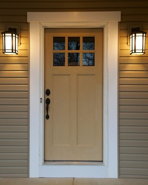 Craftsman Front Door | Flickr   Photo Sharing!