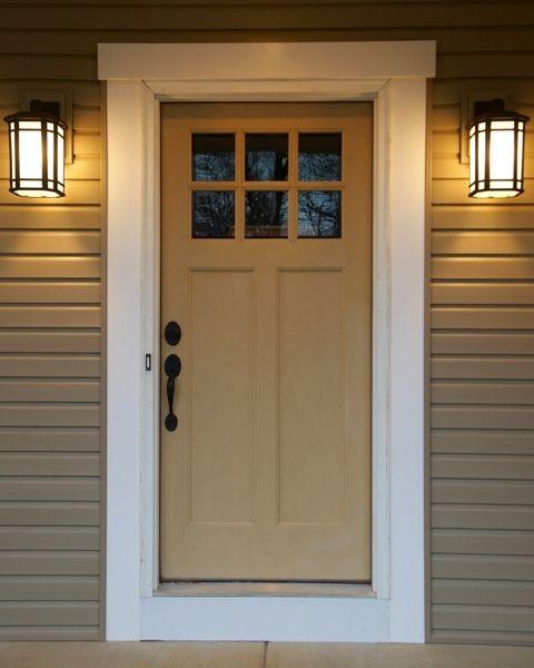 Craftsman Front Door In 2019 House Doors Craftsman Front Doors Doors Craftsman Style Front