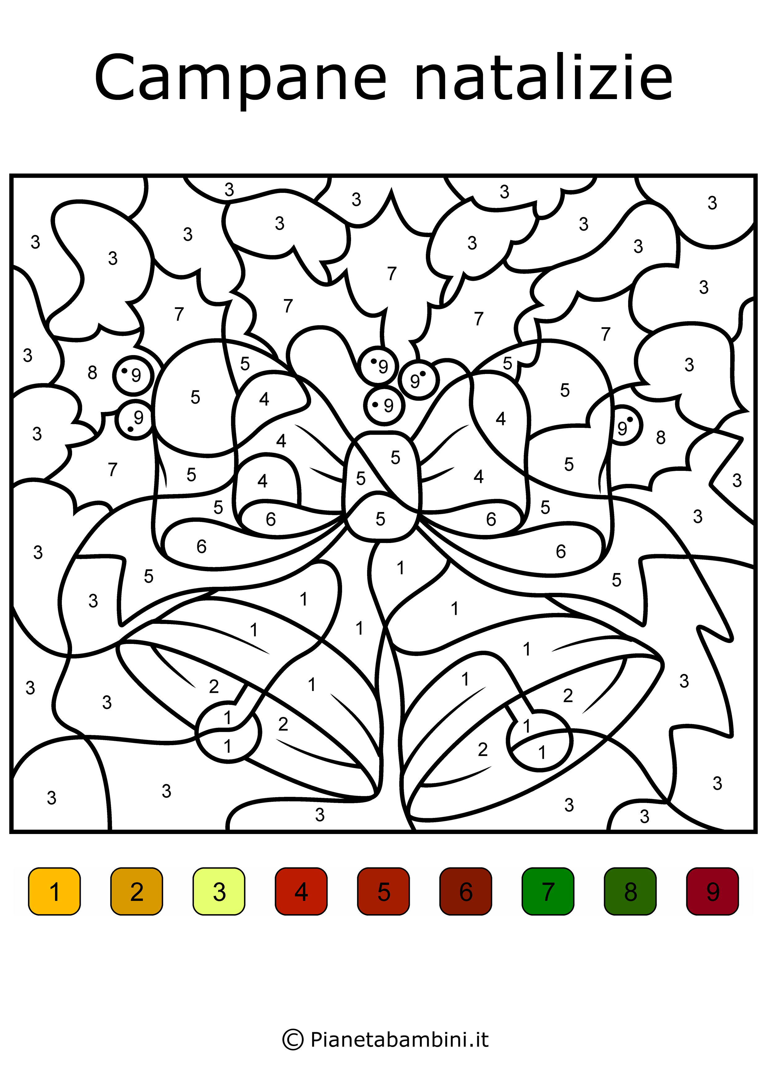 Conta E Colora 48 Disegni Da Colorare In Base Ai Numeri Disegni Da Colorare Disegni Creare Un Fiore