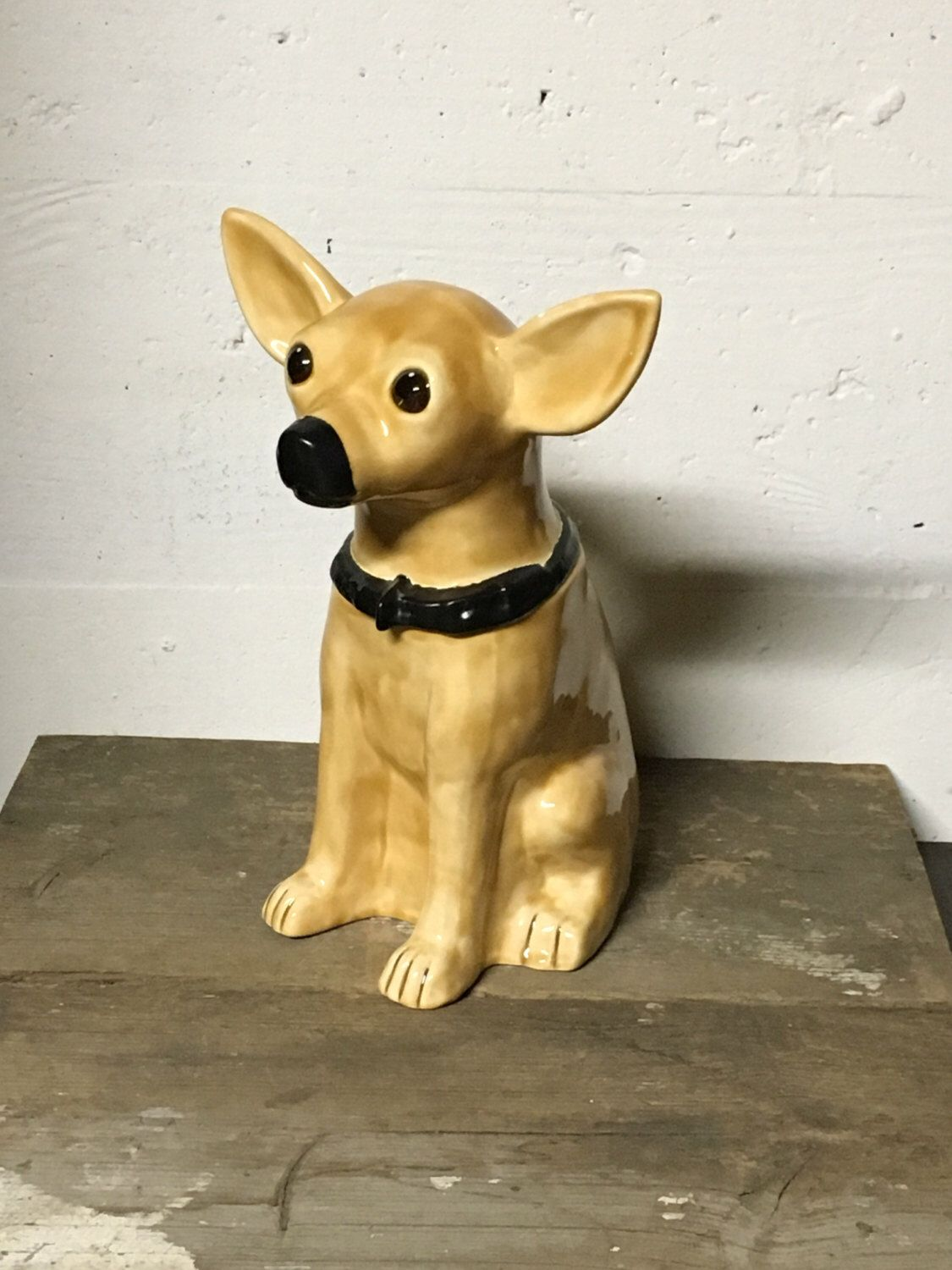 Chihuahua Cookie Jar Extraordinary A Personal Favorite From My Etsy Shop Httpswwwetsylisting Decorating Design