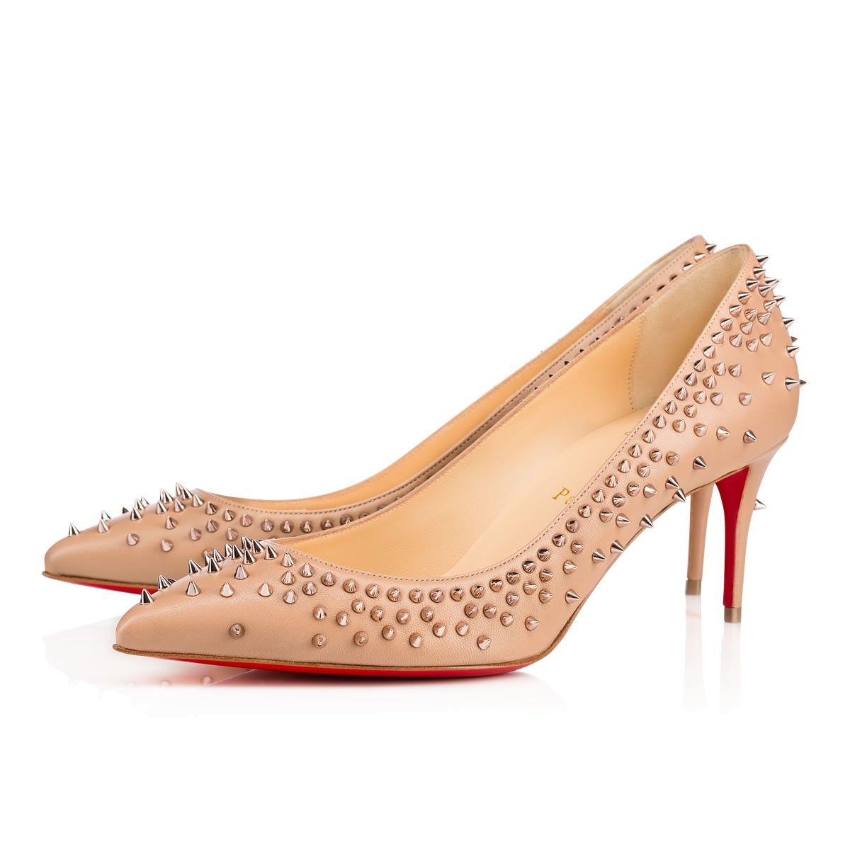 d266ad2fe2dc CHRISTIAN LOUBOUTIN Escarpic 70 Nude Rose Gold Leather - Women Shoes - Christian  Louboutin.  christianlouboutin  shoes