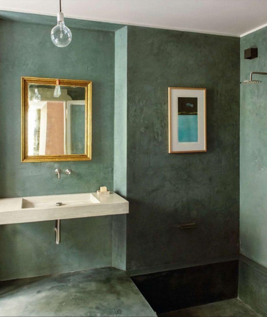 Unique Tadelakt Bathroom Design Ideas For Awesome Bathroom 15