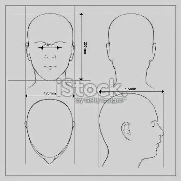 Head Measurements Cosplay Tutorial Blog Making Human Face
