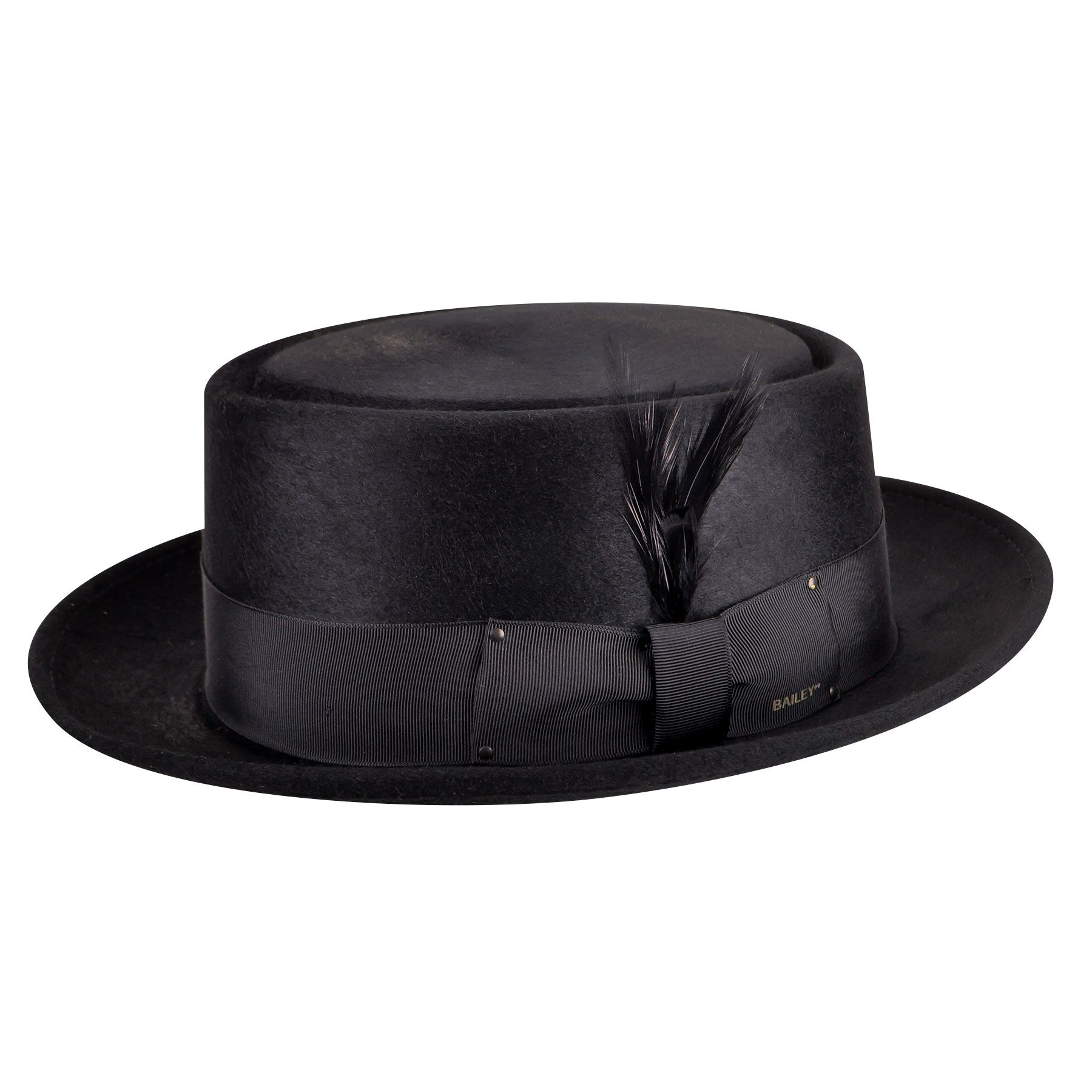 Gamble /& Gunn Uomo Cappello Pork pie