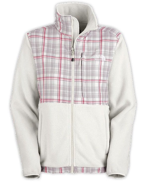 faa48d481b50 Womens Denali Jacket Moonlight Ivory Plaid.jpg 610×734 pixels North Face  Sale