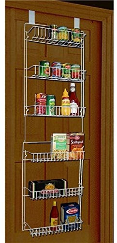 Storage Dynamics 5 Foot Over The Door Rack Organizer Kitchen Pantry Spice Shelf Pantry Storage Kitchen Organization Pantry Door Rack