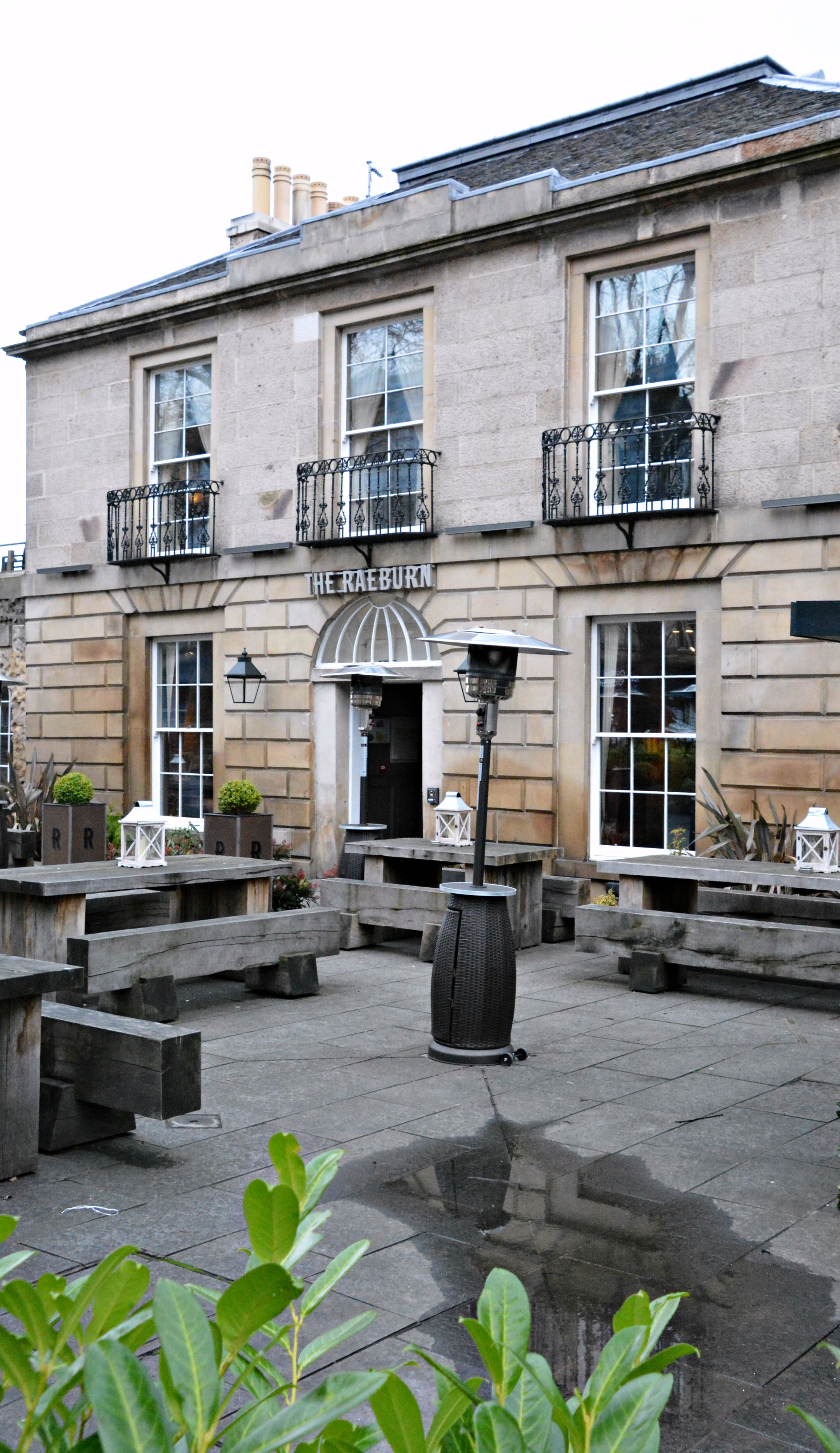 Edinburgh Stockbridge Raeburn Hotel And Restaurant Blisscomp Travel