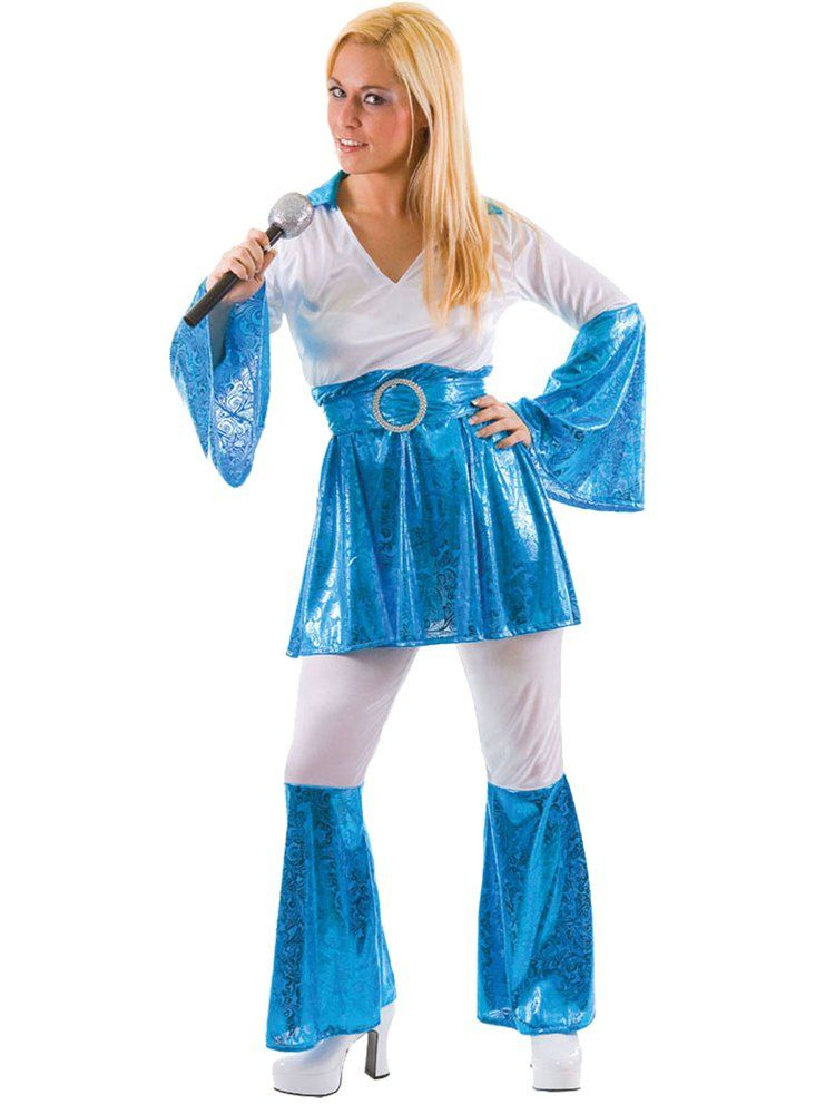 Mama Mia Women S Abba Fancy Dress Costumes Adult Uk 22 24 In