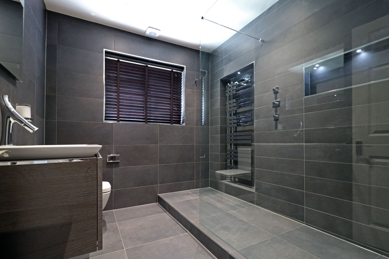 A superb designer bathroom featuring Villeroy & Boch Venticello and Bernina tiles