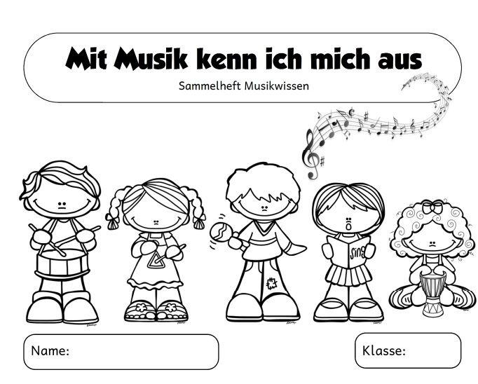 Sammelheft Musikwissen Teil 1 Da Ich Dieses Jahr Wieder Mehrere Klassen In Musik Unterrichte Habe Ich Mir Grundschule Musik Fur Die Grundschule Schule