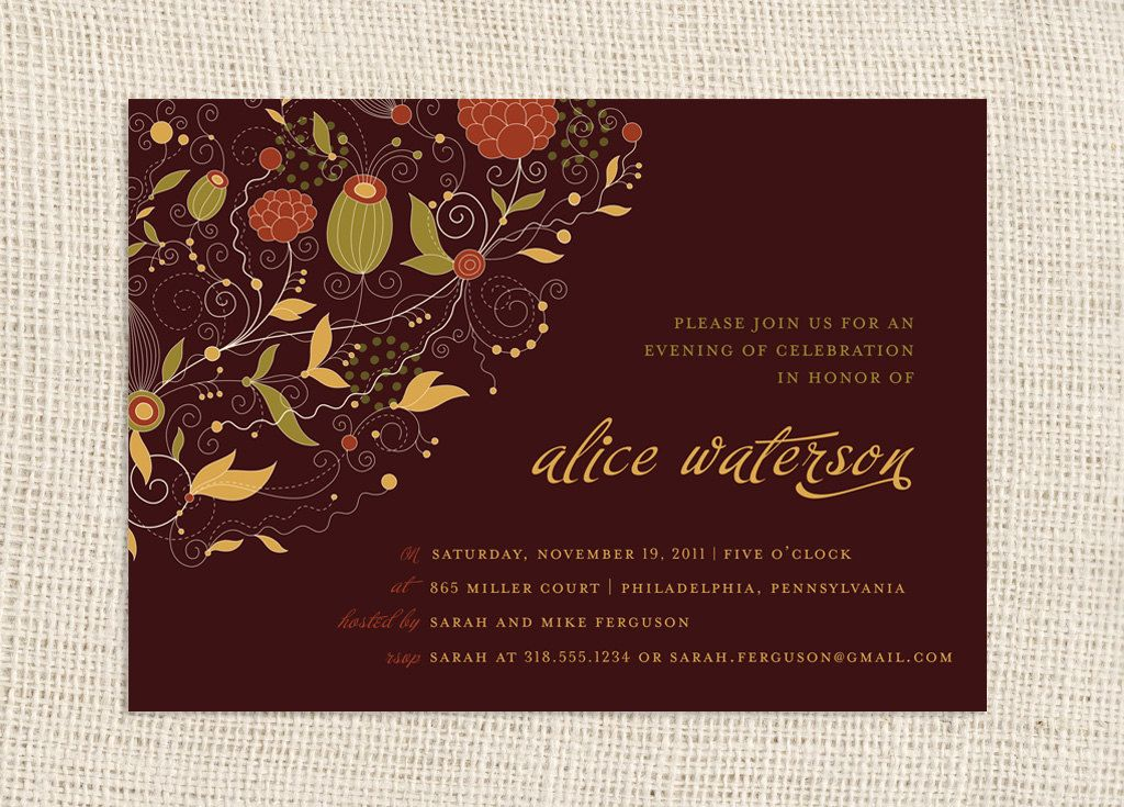 Best 25+ Fall party invitations ideas on Pinterest | Fall ...