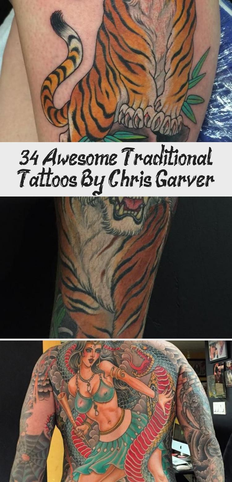 Photo of 34 Awesome Traditional Tattoos By Chris Garver – Tattoos