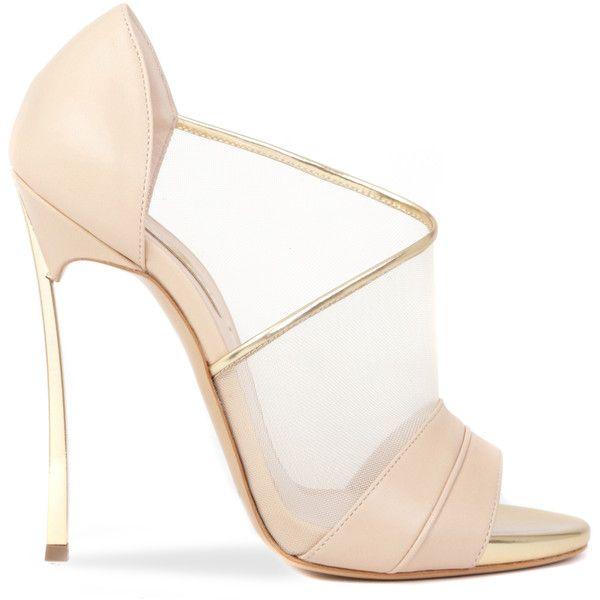 Casadei Transparent heel pumps