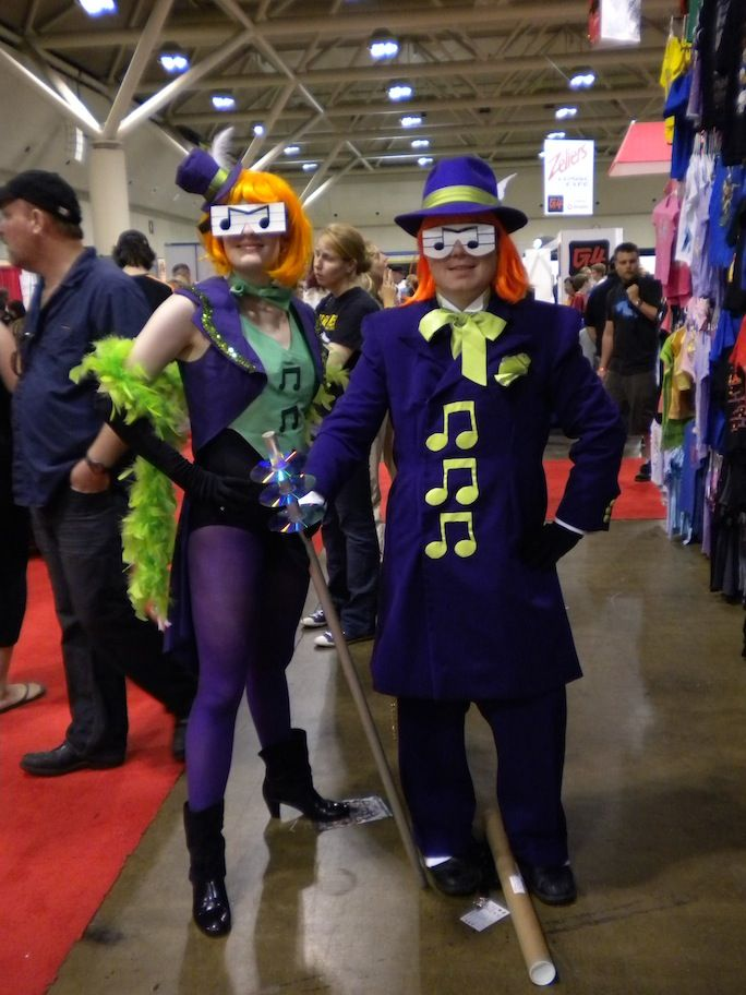 Music Meister And Music Mistress Batman The Brave And The Bold