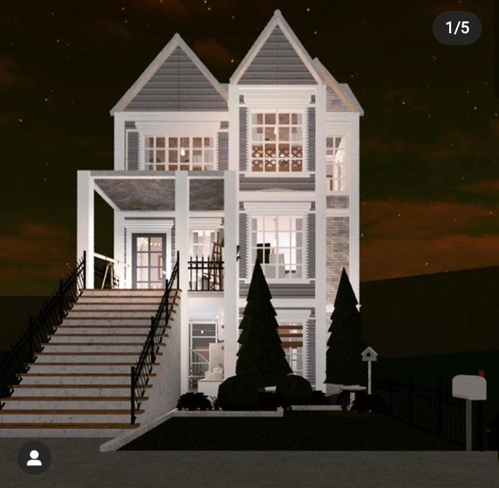 Pin By Dara Nevaeh On Bloxburg Builds And Tips In 2020 Sims House Design Simple House Plans Unique House Design