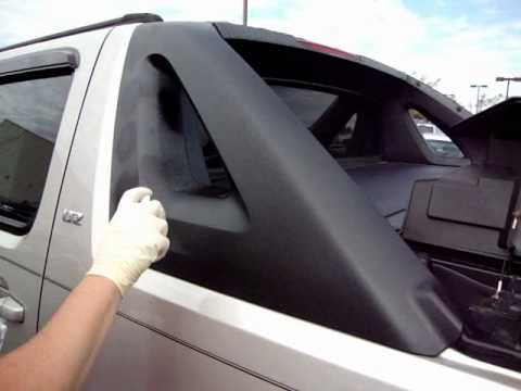 Tc Black Fusion Chevrolet Avalanche Side Panel Youtube
